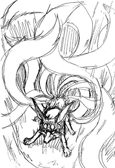 Naruto la conception du manga par masashi kishimoto - Naruto renard ...