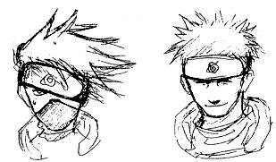 Naruto la conception du manga par masashi kishimoto captainaruto - Dessiner un ninja ...
